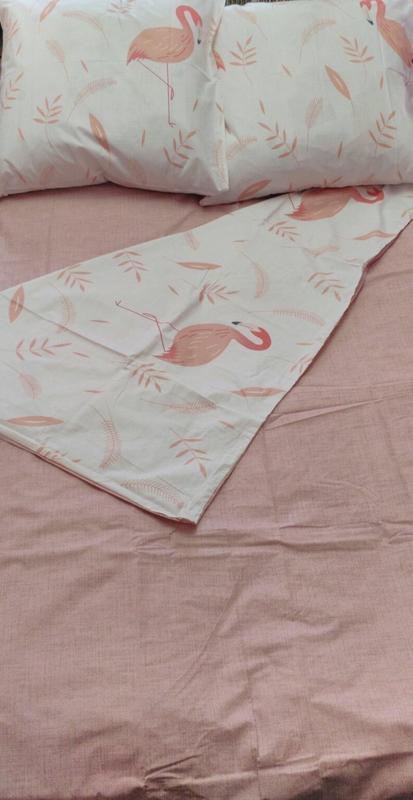 Постельное белье фламинго. полуторный , двуспальный - Фото 4