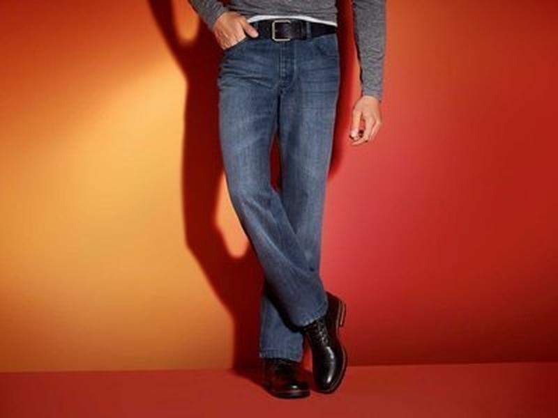 Мужские термоджинсы термо джинсы livergy германия, теплоизоляц...