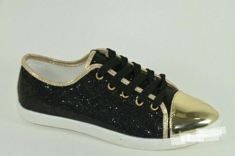 Блестящие черные лоферы, кеды, туфли