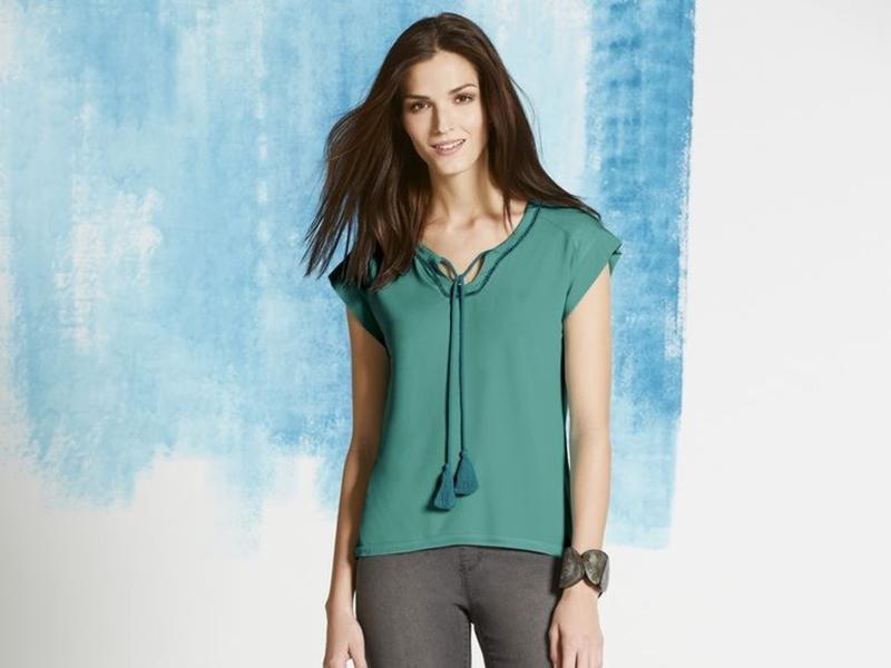 Красивая блуза, шифон и вискоза, esmara германия
