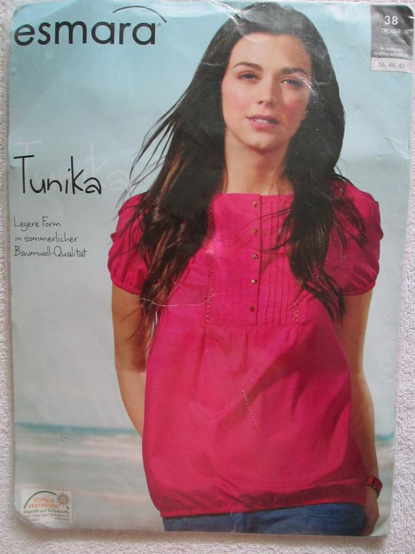 Туника, хлопковая блуза esmara германия