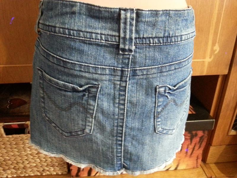 Джинсовая юбка размер 8