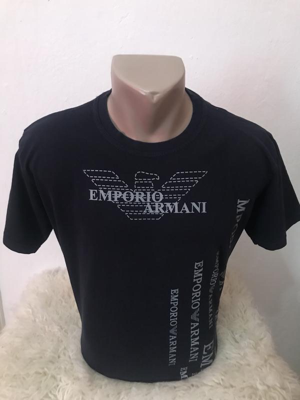 Оригинальная мужская футболка emporio armani