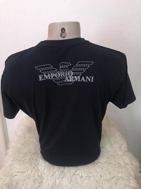 Оригинальная мужская футболка emporio armani - Фото 2