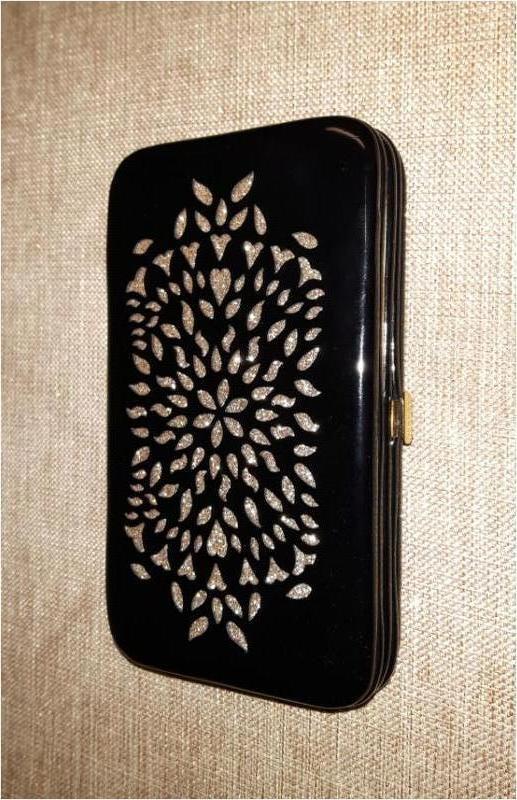 """Клатч черный новый """"H&M"""" размер 9х12см"""