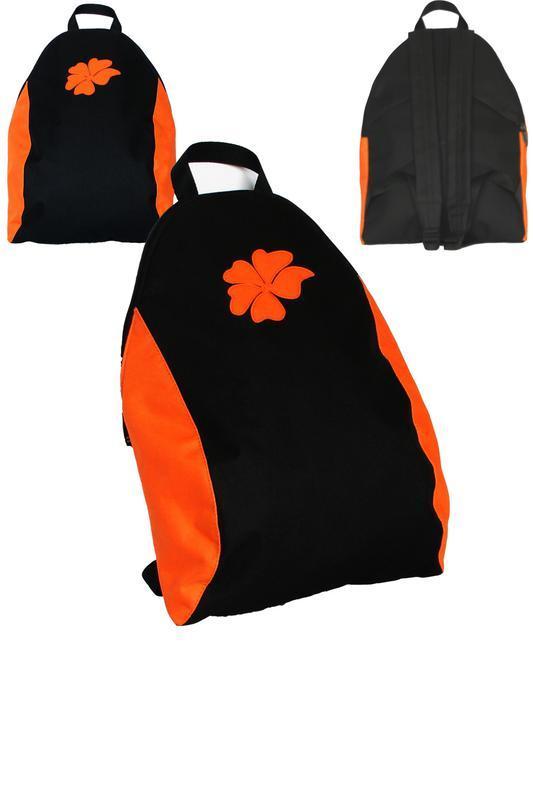 Чёрный с оранжевым, новая коллекция рюкзачков-капель от rlb ха...