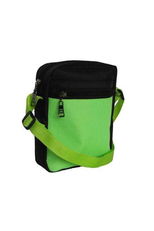 Салатовая сумка-барсетка,сумка-мессенджер для подростков- стил...