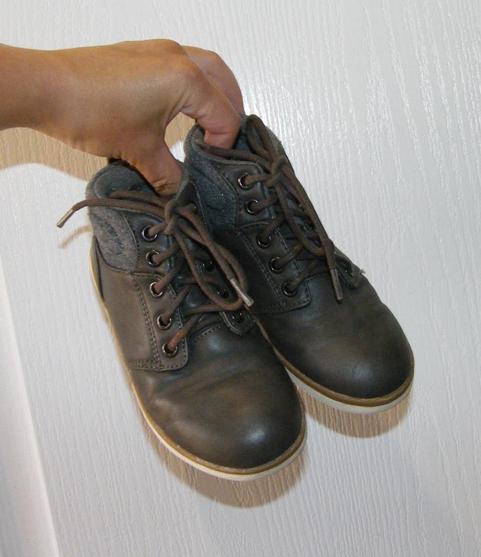 Демисезонные ботинки c&a мальчику, размер 29-30