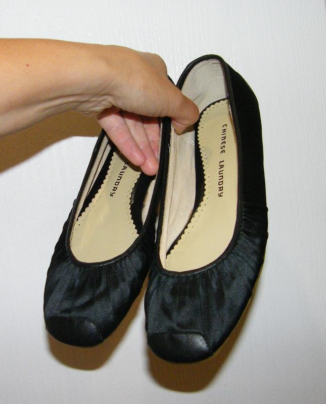 Балетки (туфли) chinese laundry, размер 37-37,5, цена снижена ...
