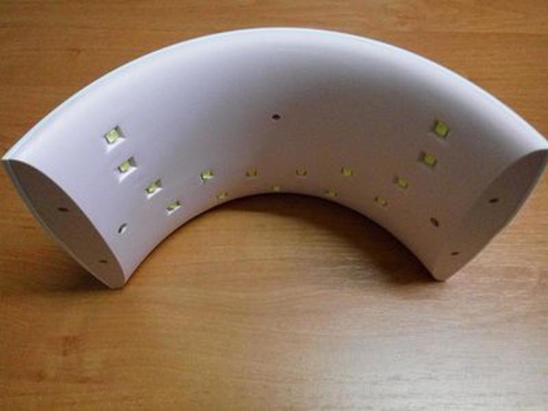 Светодиодная уф лед лампа для гель лака 24 вт . uv led - Фото 2