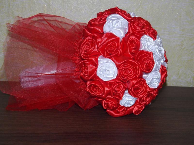 Букеты розы  ручной работы hand made - Фото 6