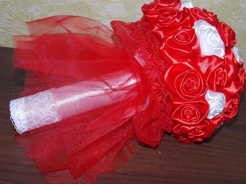 Букеты розы  ручной работы hand made - Фото 7