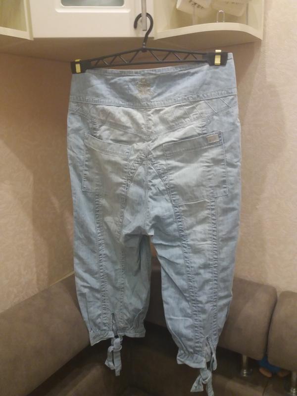 ;джинсовые бриджи            распродажа - Фото 3