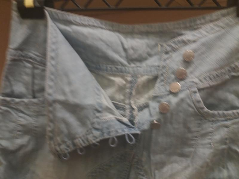 ;джинсовые бриджи            распродажа - Фото 5