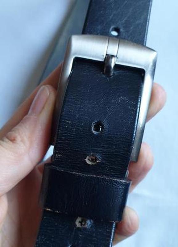 Ремень кожаный - Фото 2