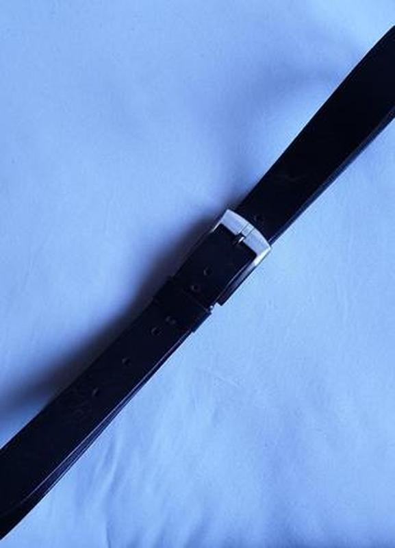 Ремень кожаный - Фото 4