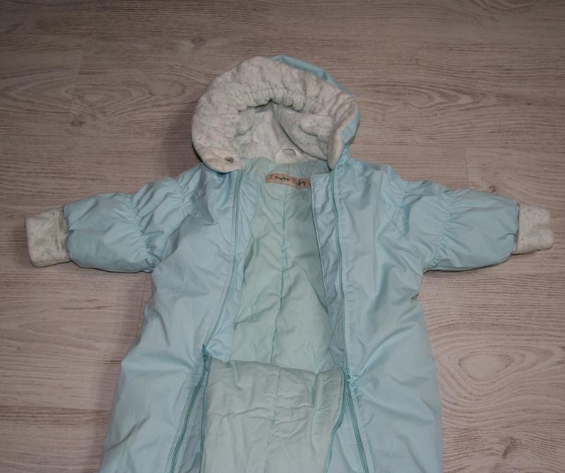 Детский комбинезон Lenne, голубой, рост 68
