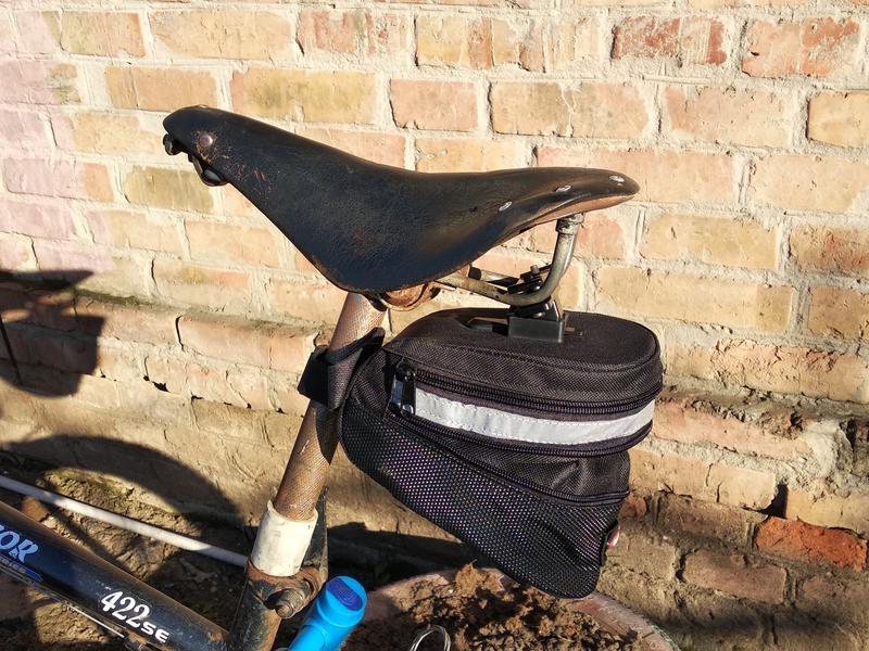 Подседельная велосумка, сумка вело под седло бардачек - Фото 4