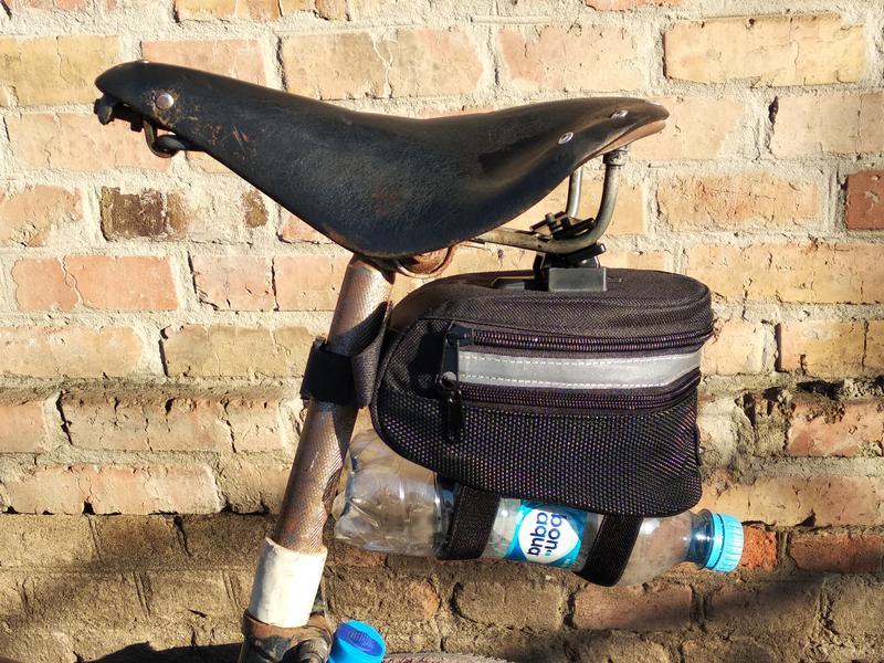 Подседельная велосумка, сумка вело под седло бардачек - Фото 2