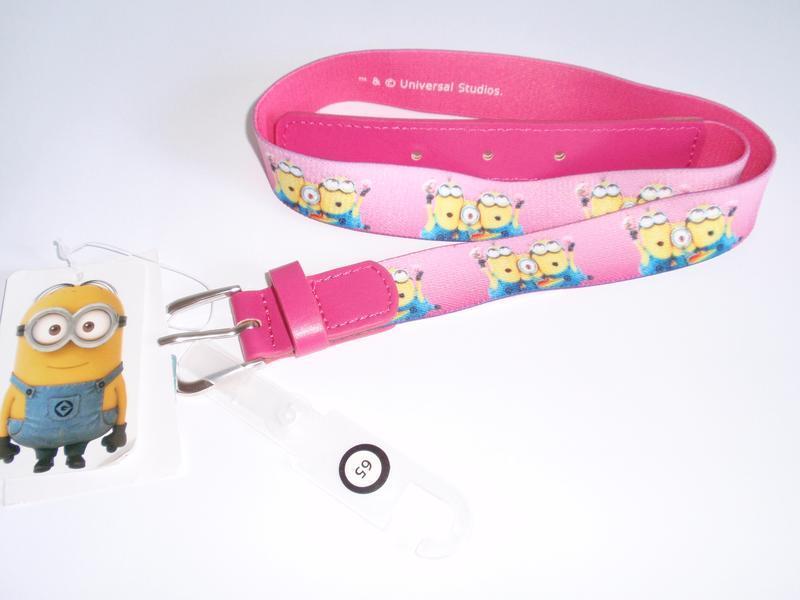Очаровательный ремень для девочки minion бренд c&a германия, р...