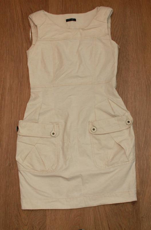Платье сарафан с накладными карманами savida 36-38р. бохо мега... - Фото 2