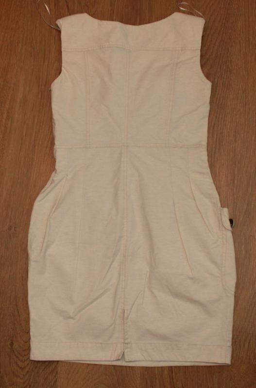 Платье сарафан с накладными карманами savida 36-38р. бохо мега... - Фото 5