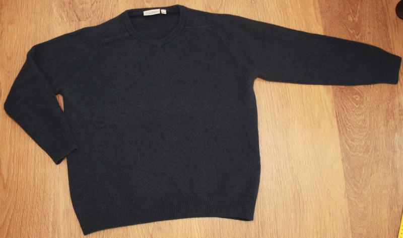 Теплый свитер canda 38-40р. 100% шерсть