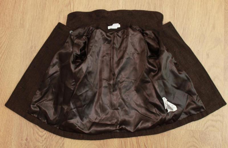 Пальто демисезонное в английском стиле h&m на 9-12 мес. шерсть... - Фото 4