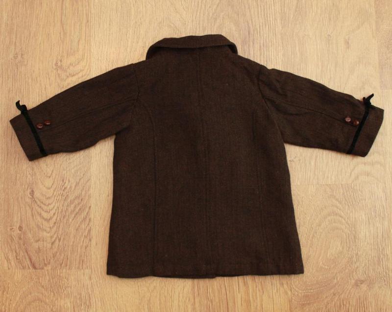 Пальто демисезонное в английском стиле h&m на 9-12 мес. шерсть... - Фото 5