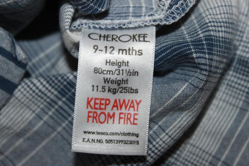 Рубашка с капюшоном cherokee на 9-12 мес. - Фото 2