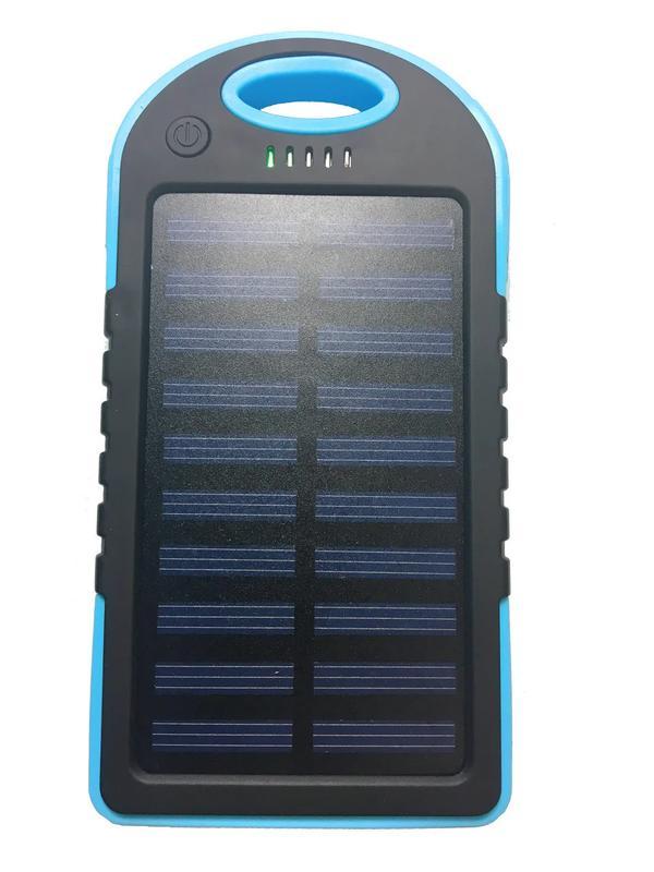 Power Bank Solar 30000 mAh + Фонарь павер банк солнечный акк - Фото 3