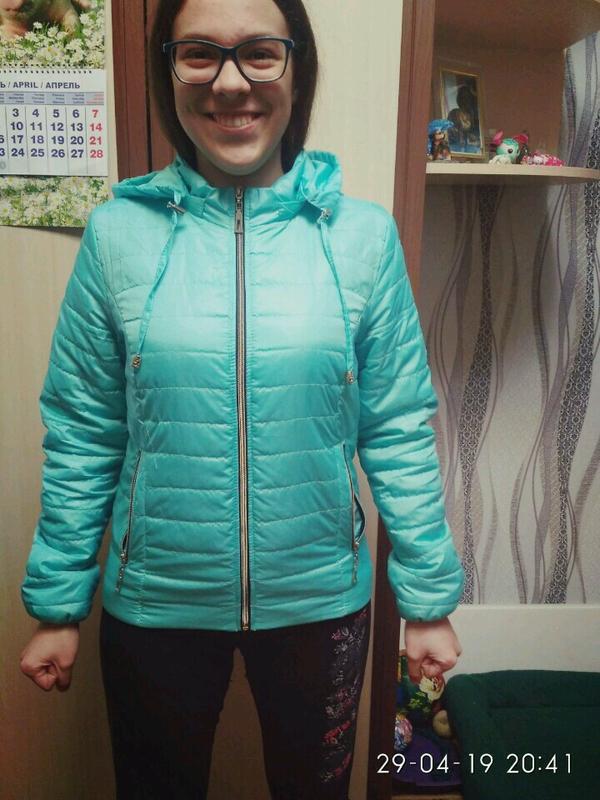 Куртка весна-осень на девочку размер 44-46
