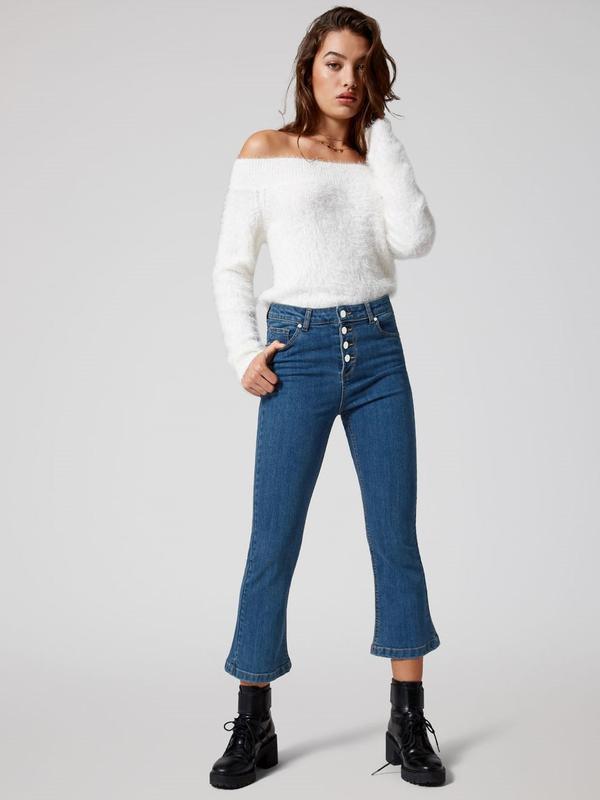 Jennyfer женские зауженные джинсы джинси скинни натуральный джинс - Фото 2
