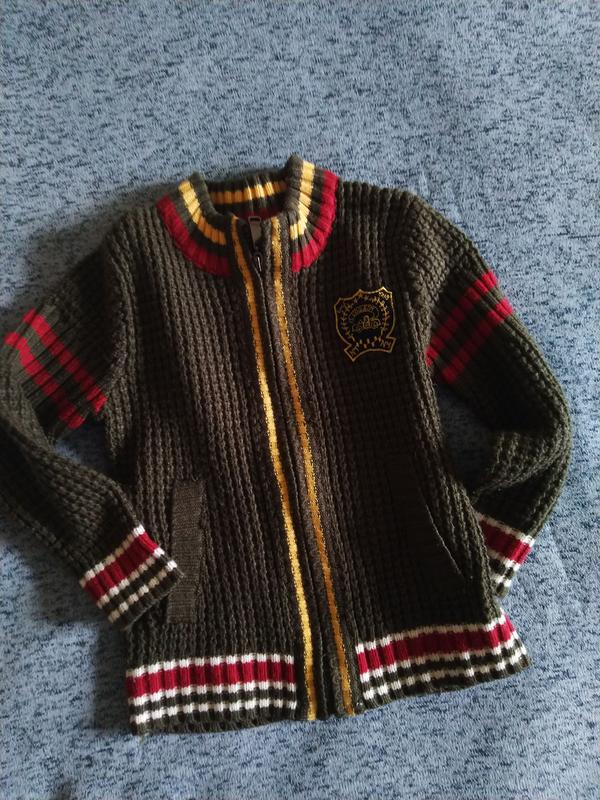 Кофта. свитер 92-104 см