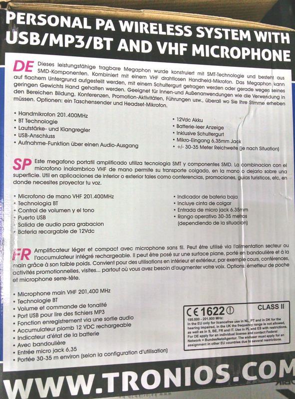 Продам,  Vonyx ST-010 беспроводная активная звуковая система. Сос - Фото 6