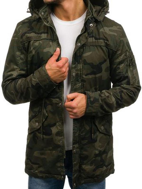 Куртка-парка мужская демисезонная Alnwick. Размер 3XL, новая.