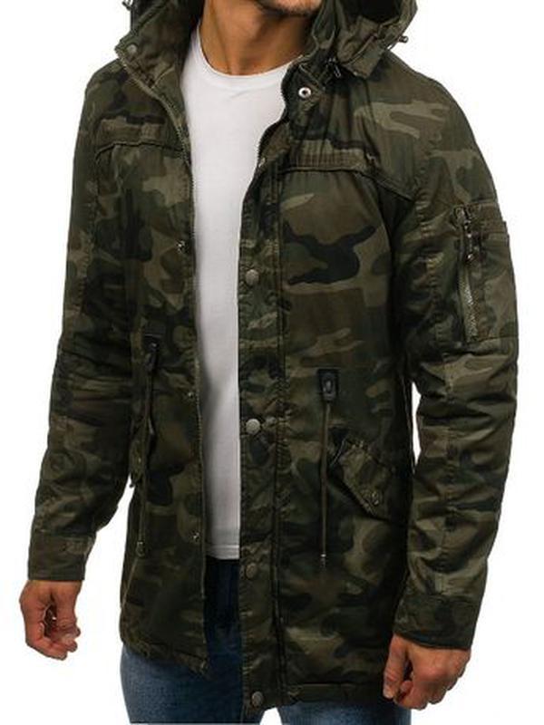 Куртка-парка мужская демисезонная Alnwick. Размер 3XL, новая. - Фото 2