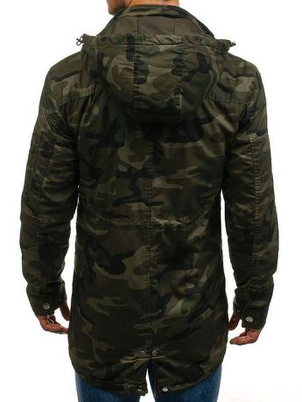 Куртка-парка мужская демисезонная Alnwick. Размер 3XL, новая. - Фото 3