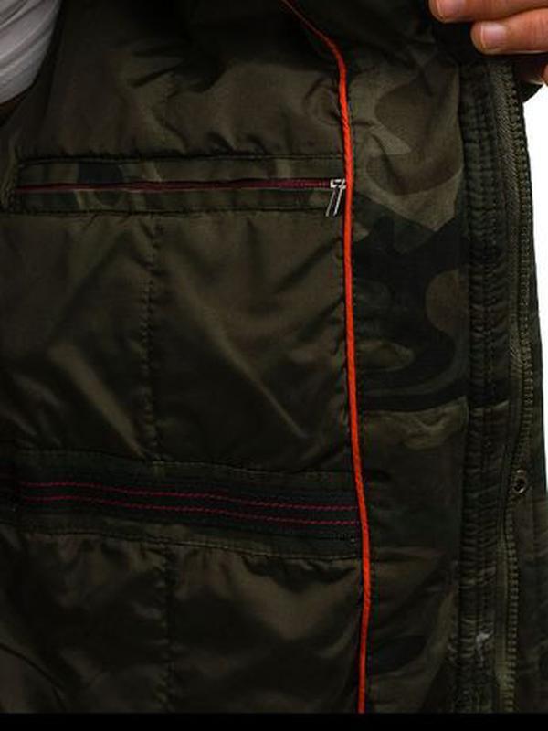 Куртка-парка мужская демисезонная Alnwick. Размер 3XL, новая. - Фото 6