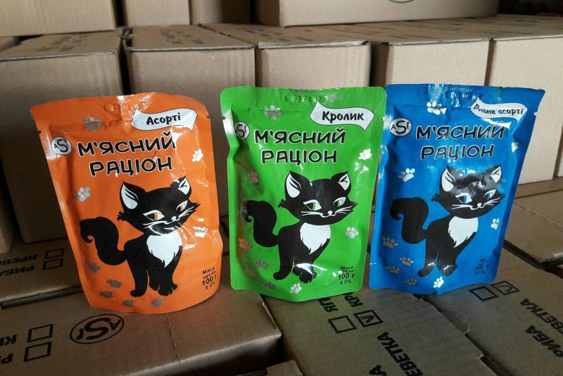 Кошачий сухой корм для котов кошек котят котів кішок кошенят ASI - Фото 4