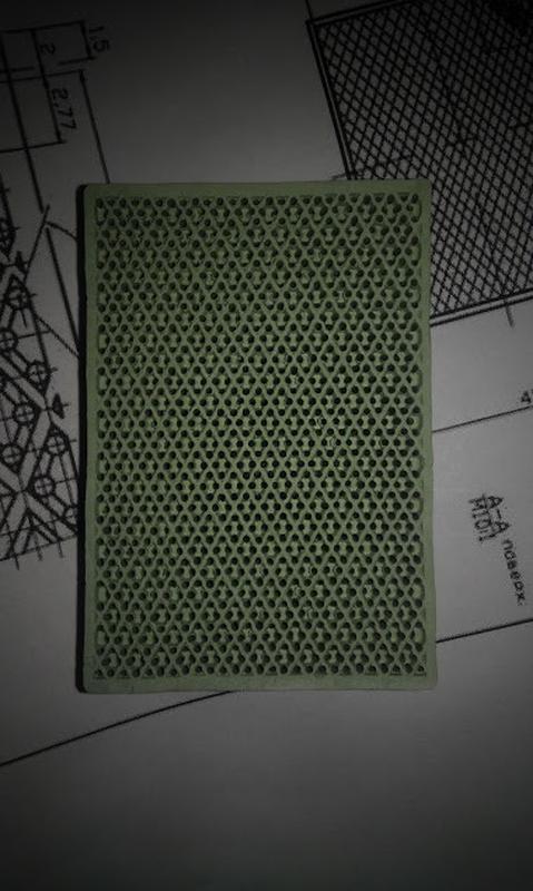 Панель (плитка) керамика  ЭИП 65х45х12,5 для горелок печи А2-ШБГ