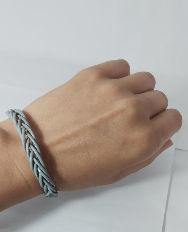 Эксклюзивный кожаный браслет - Фото 2