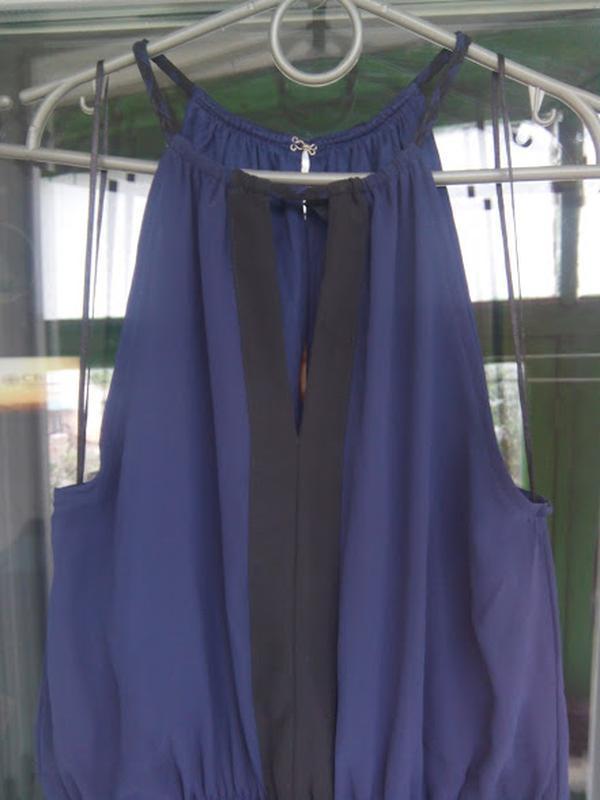 Нарядное летнее платье h&m открытые плечи коктейльное вечернее - Фото 3
