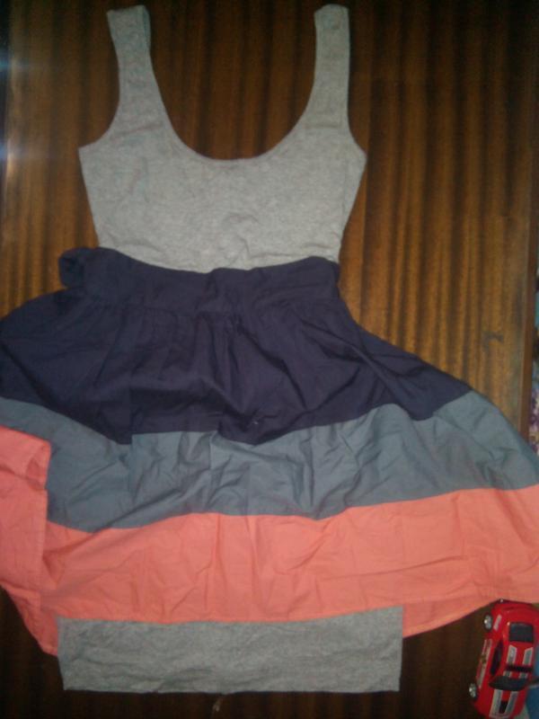 Женское летнее платье topshop пышная юбка в полоску
