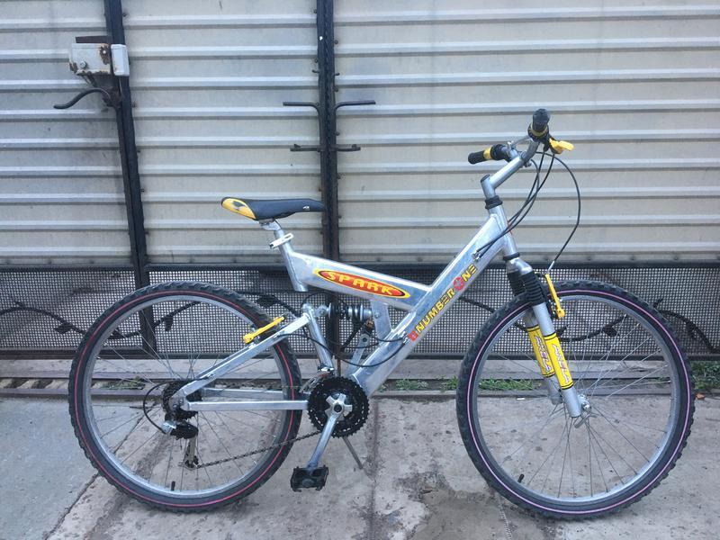 Алюминиевый велосипед Двухподвес