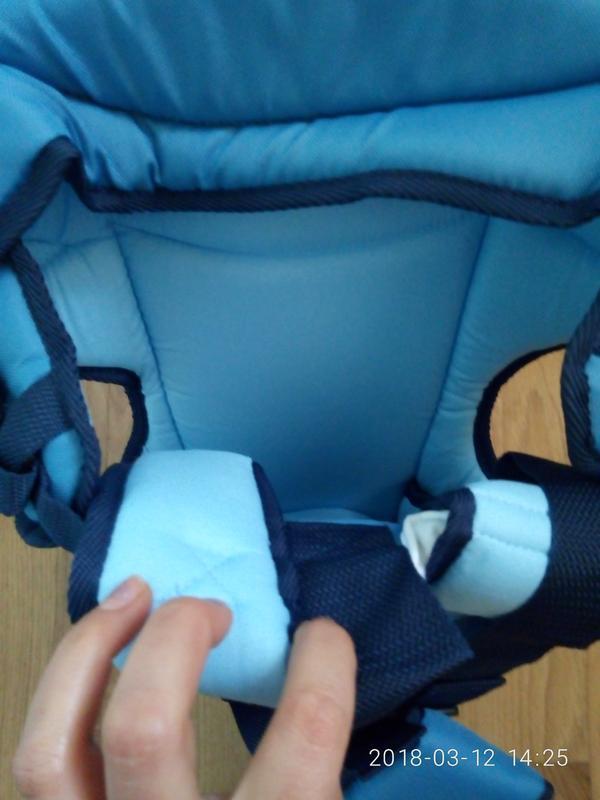 Рюкзак- переноска для детей rainbow 15 standart оригинал фабричны - Фото 4