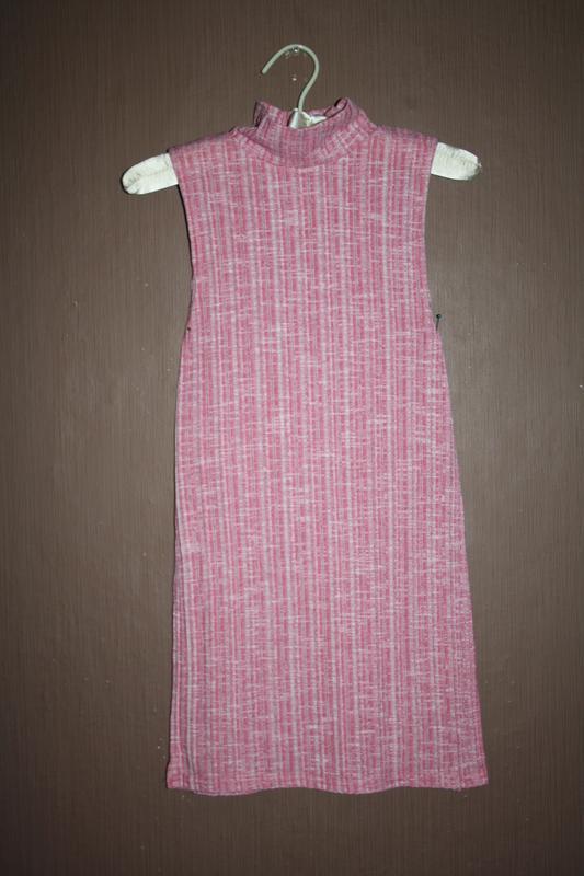 Актуальный топ с высоким горлышком №60 pink boutique