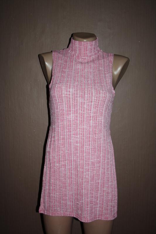 Актуальный топ с высоким горлышком №60 pink boutique - Фото 2