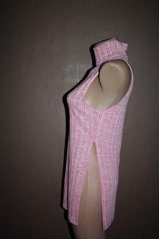 Актуальный топ с высоким горлышком №60 pink boutique - Фото 3