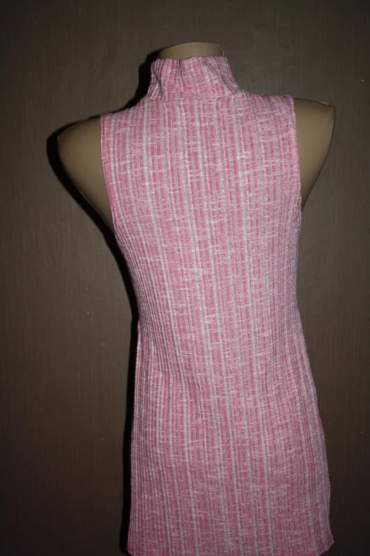 Актуальный топ с высоким горлышком №60 pink boutique - Фото 4